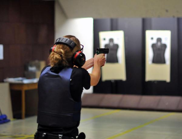 policier tir