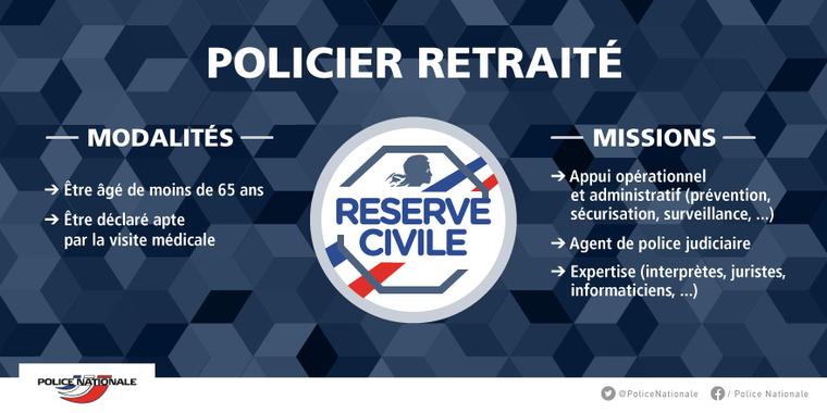 policiers retraite