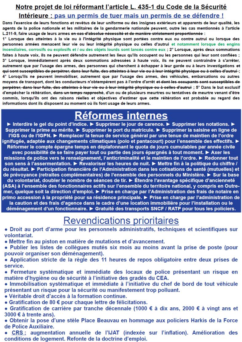 FRANCE POLICE CTM 3