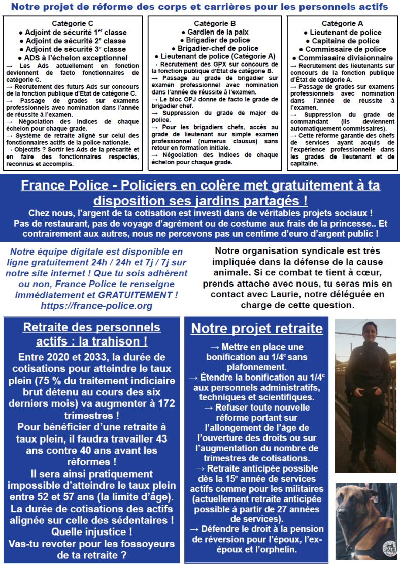 FRANCE POLICE CTM 4