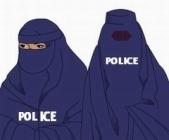 police burqa