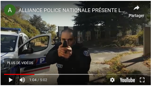 vidéo alliance police nationale