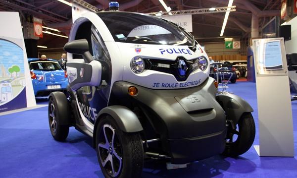 voiture électrique police nationale gendarmerie