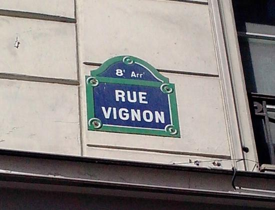 rue vignon