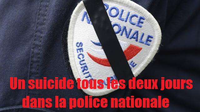 suicide police nationale policiers en colère gilets jaunes