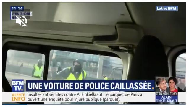 patrouille police attaquée lyon gilets jaunes acte 14.png