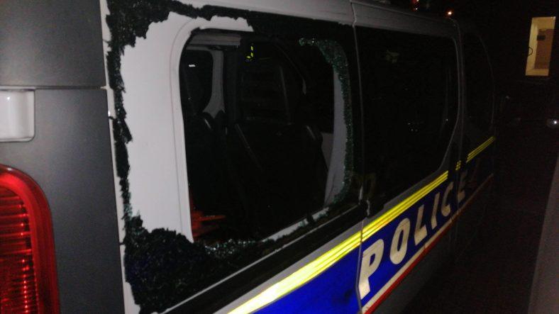 véhicule police attaqué le 14 juillet