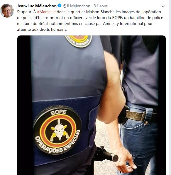 brésil BOPE police nationale