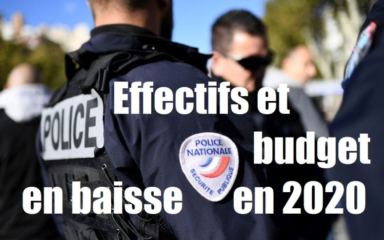 effectifs budget police nationale