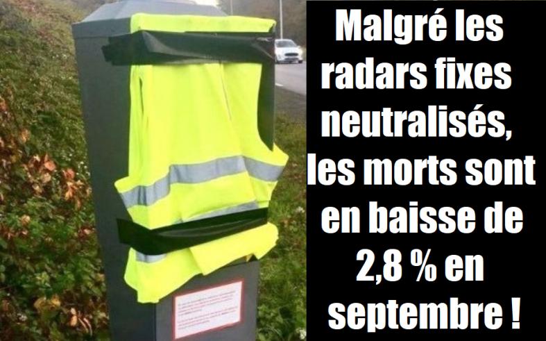 gilets jaunes radars sur les routes baisse du nombre de morts.png