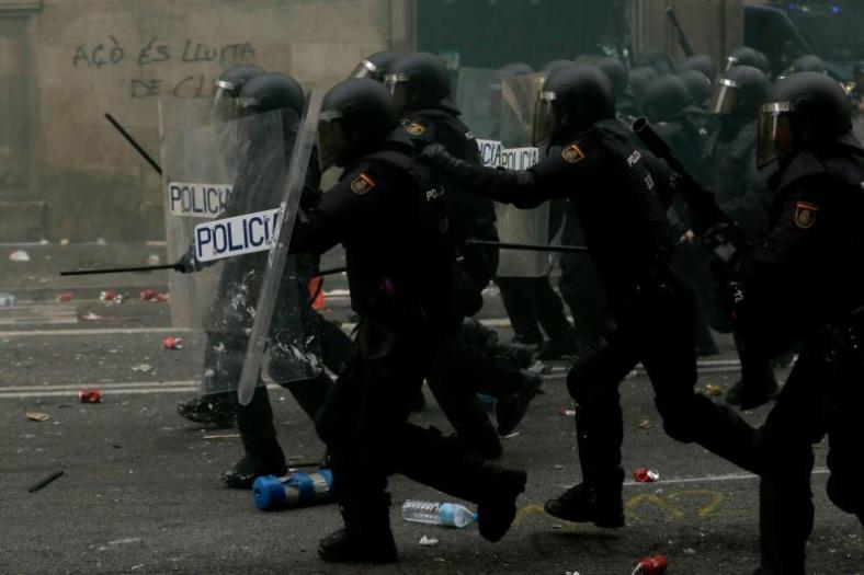police espagnole catalogne