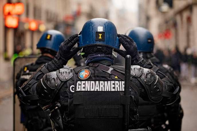 gendarmes mobiles