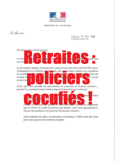 retraite police nationale