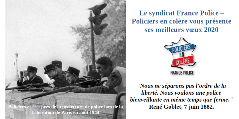voeux 2020 Syndicat France Police Policiers en Colère.png