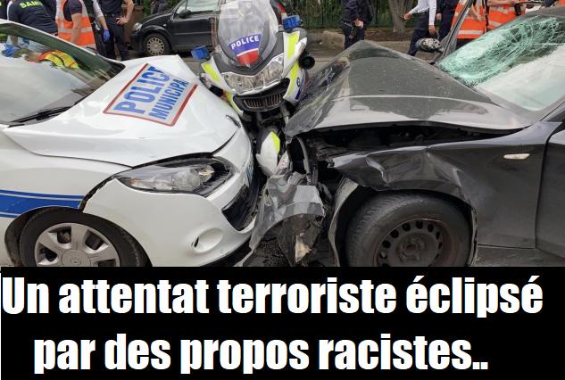 police attentat colombes propos raciste île saint denis bicot policiers suspendus