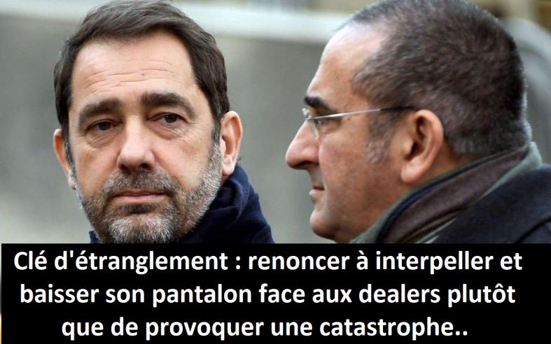 clé d'étranglement police gendarmerie syndicats bavures interventions policières