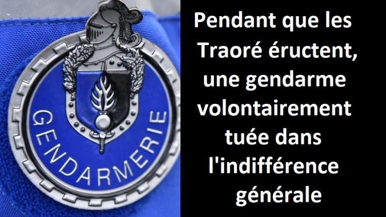 mélanie leméee gendarme tuée assassinée police nationale chauffard barrage de police gendarmerie