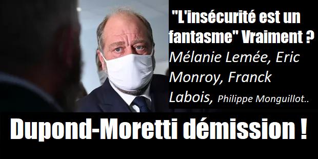 dupond-moretti démission